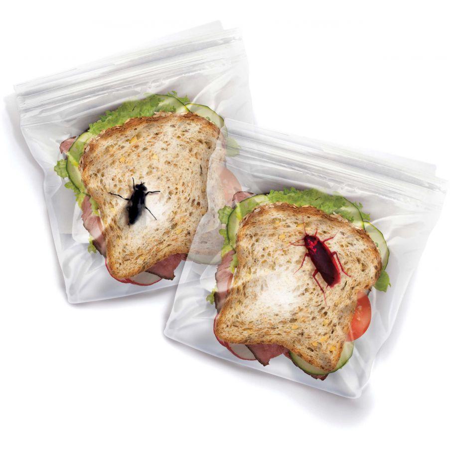 Пакеты для ланча Насекомые (WITH A SKITTERY SURPRISE)Кухня<br>Пакеты для ланча Насекомые (WITH A SKITTERY SURPRISE)<br>Размер: None; Объем: None; Материал: Полиэтилен; Цвет: None;
