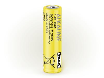 Батарейка щелочная Алкалиск (Alkaline) R03