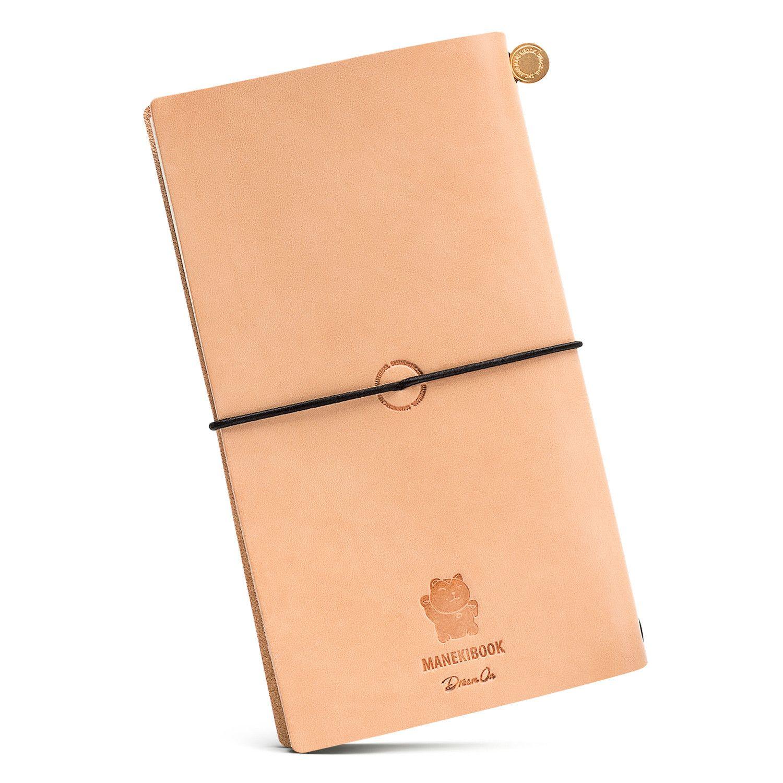 Купить со скидкой Блокнот Manekibook цвет Raw