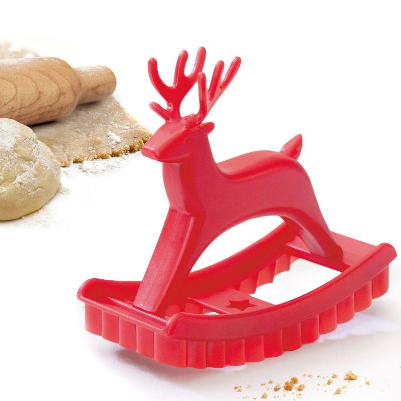 Форма для печенья Sweet deerПодарки<br>Форма для печенья Sweet deer<br>Размер: 11 x 8 x 5 см; Объем: None; Материал: Пластик ABS; Цвет: Красный;