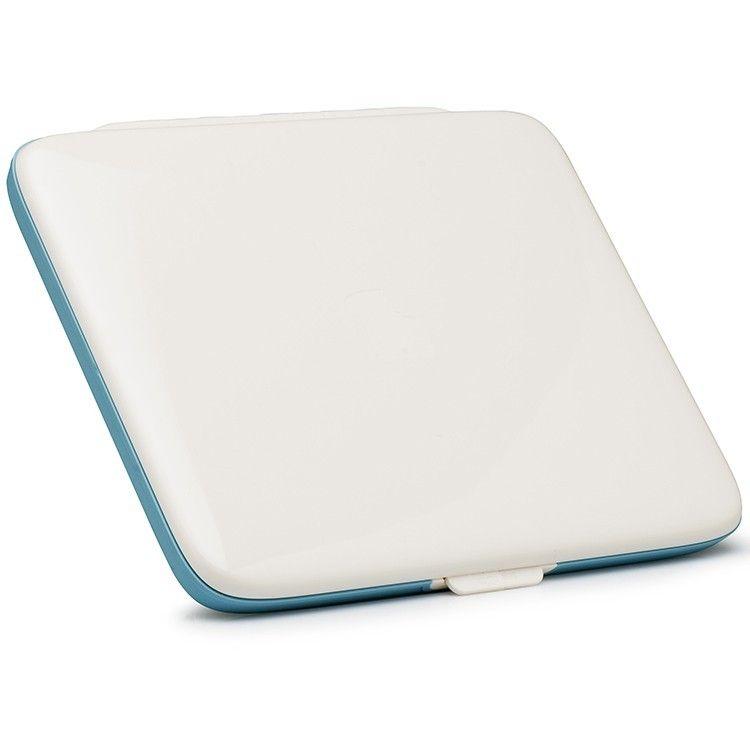 Ланч-Бокс Foodbook ГолубойПодарки<br>Ланч-Бокс Foodbook (Голубой)<br>Размер: 27 х 22 х 2 см.; Объем: None; Материал: Пластик; Цвет: Голубой;