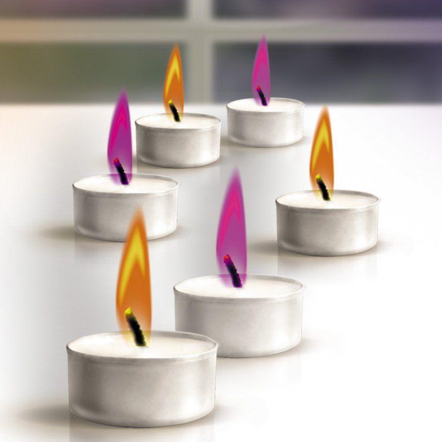 Набор свечей, цветопламенные чайные GLOSСвечи и подсвечники<br>Свечи чайные цветопламенные (оранж./фиолет.)<br>Размер: None; Объем: None; Материал: Воск; Цвет: Фиолетовый / Оранжевый;