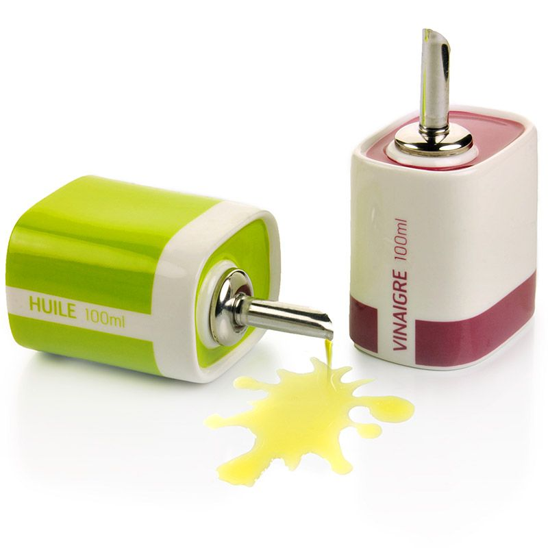 Набор для масла и уксуса Acid colors