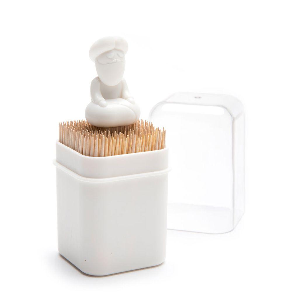 Подставка для зубочисток BabuОвну<br>Подставка для зубочисток Babu<br>Размер: 5 x 5 x 11.5 см; Объем: None; Материал: Пластик ABS; Цвет: Белый;