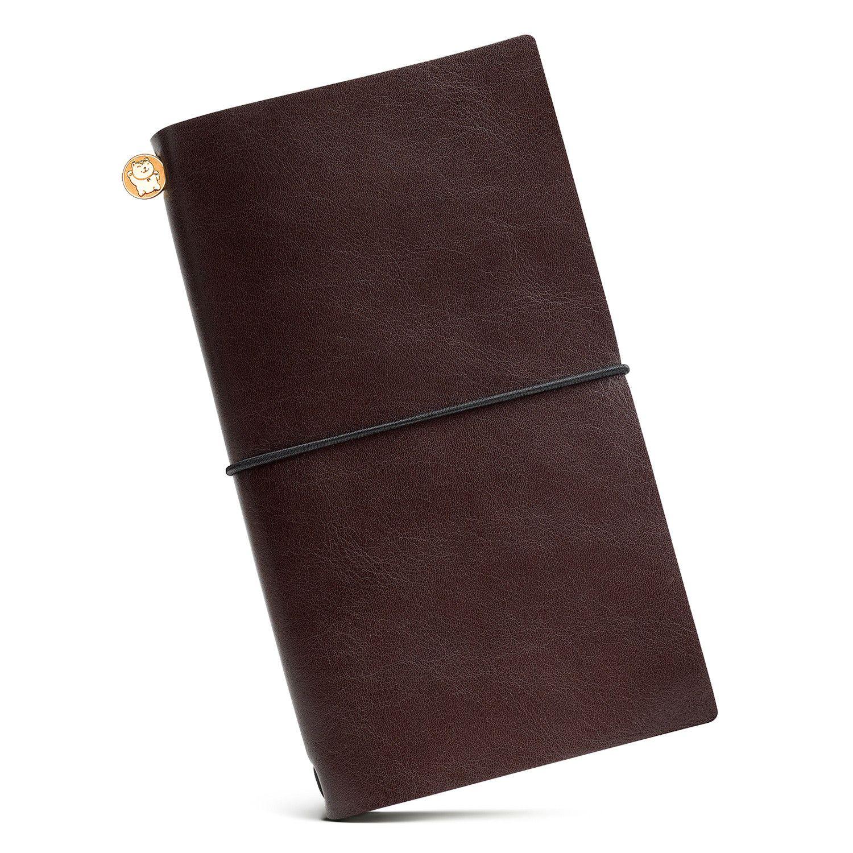Купить со скидкой Блокнот Manekibook цвет Brown