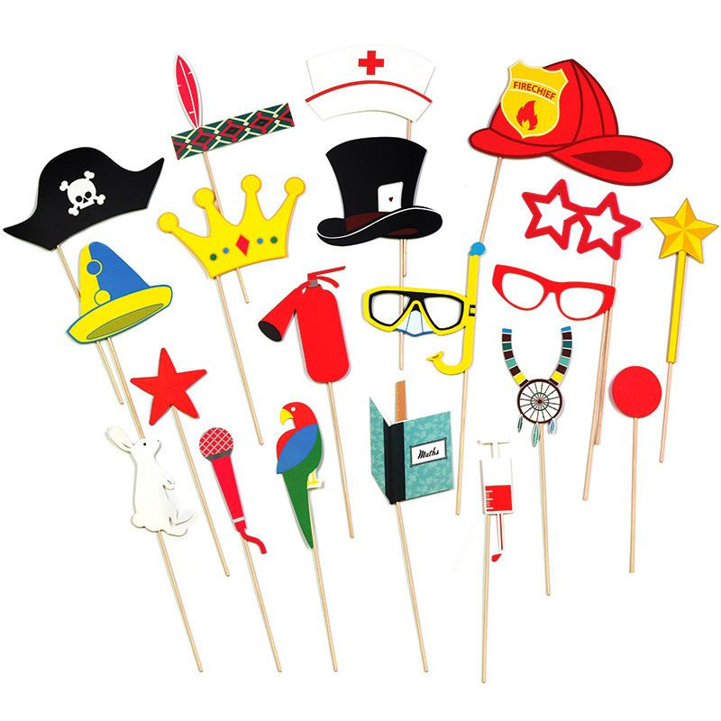 Набор из 20 элементов для вечеринки KidsПодарки<br>Набор из 20 элементов для вечеринки Kids<br>Размер: None; Объем: None; Материал: Бумага; Цвет: None;