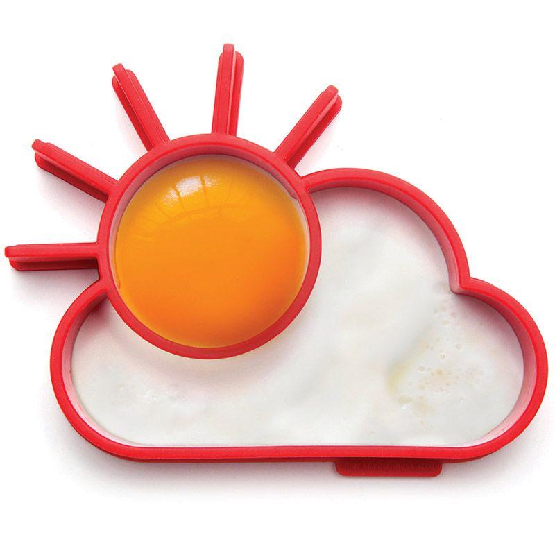 Форма для яичницы SunnysideПодарки<br>Форма для яичницы Sunnyside<br>Размер: 13.8 х 11 х 2.4 см.; Объем: None; Материал: Силикон; Цвет: Красный;