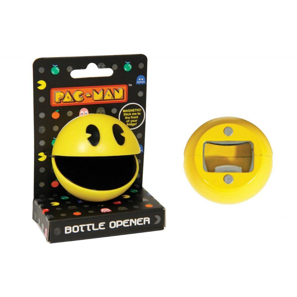 Открывалка с магнитом Pac ManПодарки<br>Магнитная открывалка - Pac Man<br>Размер: None; Объем: None; Материал: Пластик; Цвет: Желтый;