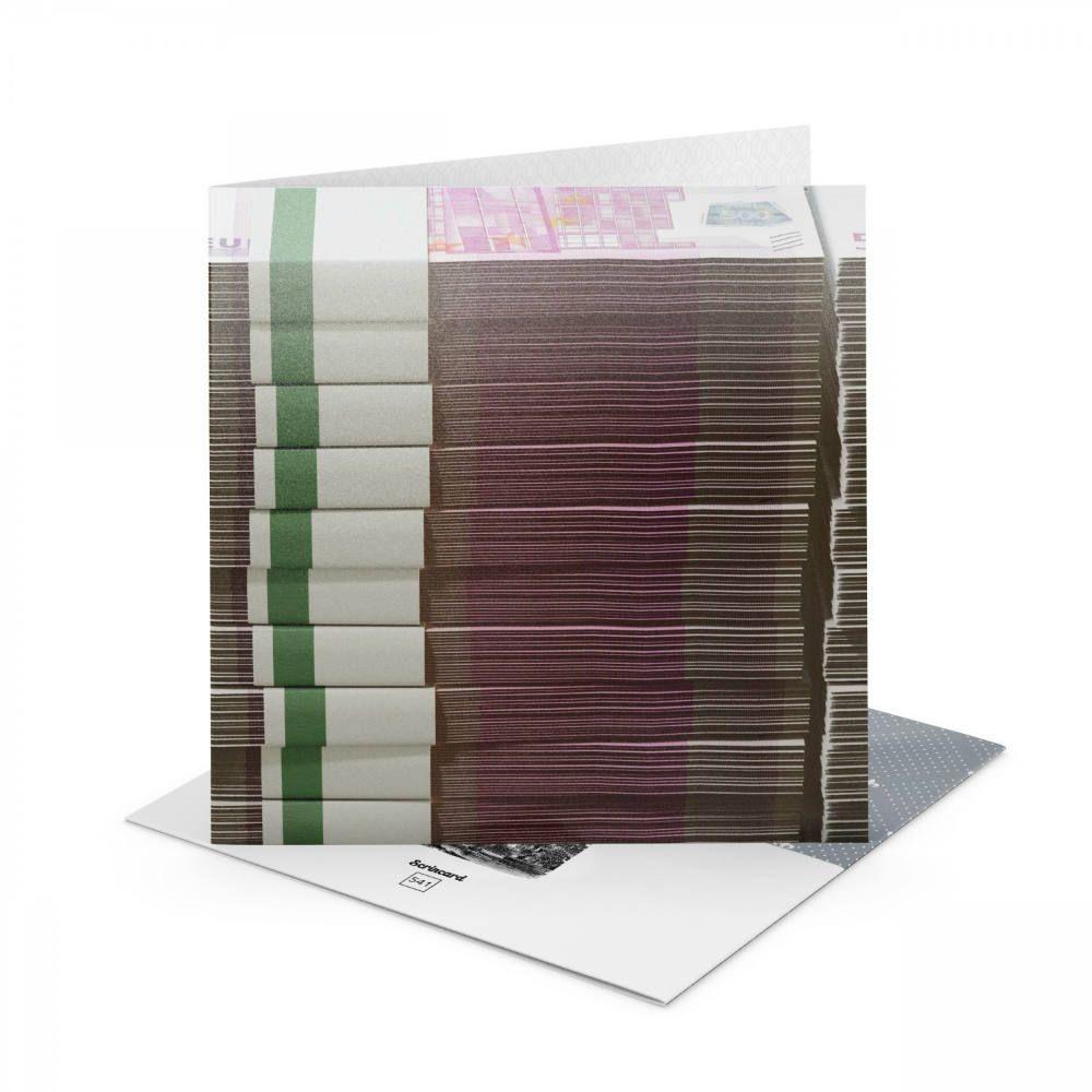 Открытка Scrincard БанкнотыПодарки<br>Открытка Купюры<br>Размер: 20 х 20 см.; Объем: None; Материал: Картон; Цвет: None;