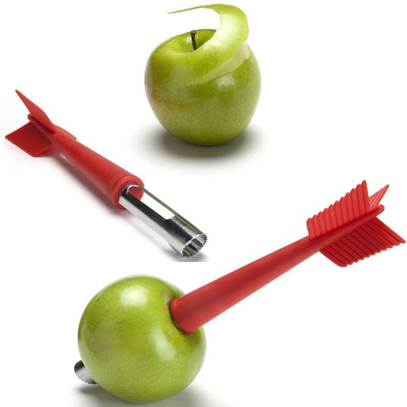 Нож для яблок Apple shotПодарки<br>Нож для яблок Apple shot<br>Размер: 21.5 см.; Объем: None; Материал: Нержавеющая сталь, пластик; Цвет: Красный;