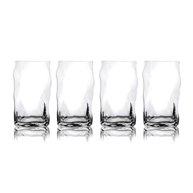 Набор стаканов On the RocksКухня<br>Набор стаканов On the Rocks<br>Размер: 14 x 7.5 x 7.5 см.; Объем: None; Материал: Стекло; Цвет: Прозрачный;