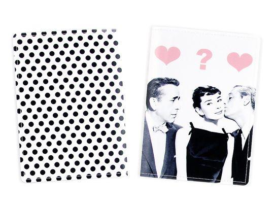 Обложка для паспорта ОдриПодарки<br>Обложка для паспорта Одри<br>Размер: None; Объем: None; Материал: ПВХ; Цвет: Белый;