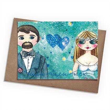 Поздравительная открытка Тили-тили-тестоПодарки<br>Поздравительная открытка Тили-тили-тесто<br> <br>Любой необычный подарок можно дополнить такой же интересной открыткой от магазина подарков Разверни.<br>Размер: None; Объем: None; Материал: Бумага; Цвет: Комбинированный;