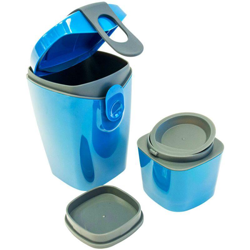 Ланч-бокс Energy Booster ГолубойПодарки<br>Ланч-бокс Energy Booster Голубой<br>Размер: 19 х 9.5 х 8.5 см.; Объем: None; Материал: Силикон; Цвет: Синий;