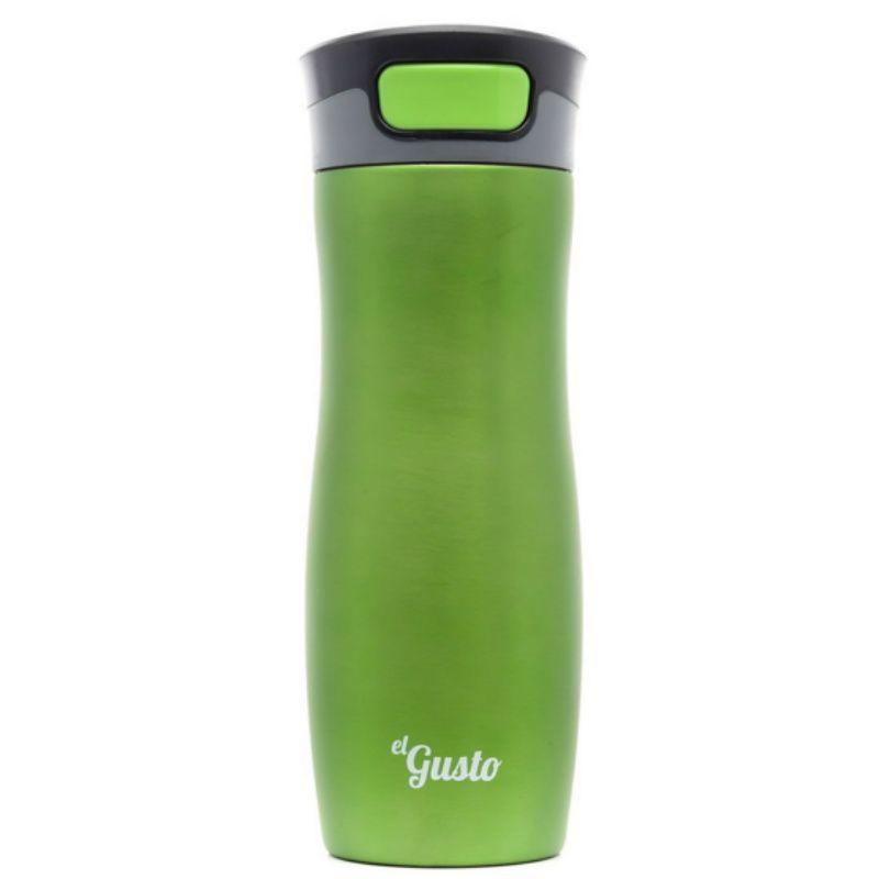 Термокружка El Gusto Green BerryПодарки<br>Термокружка El Gusto Green Berry<br>Размер: None; Объем: 470 мл.; Материал: Нержавеющая сталь; Цвет: Зеленый;