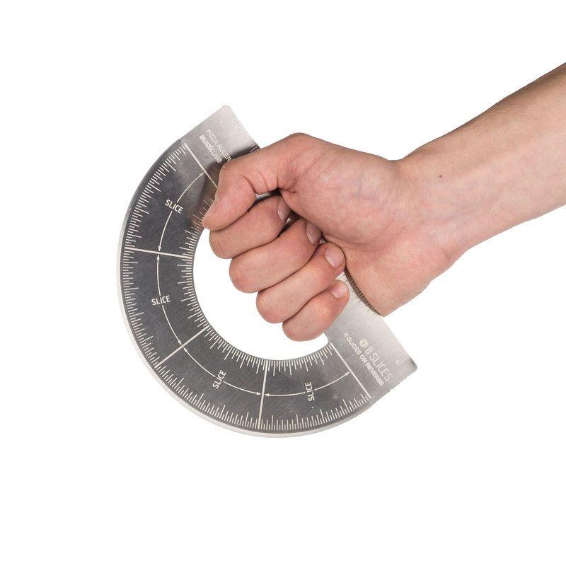 Нож для пиццы ProtractorДля масла и сыра<br>Нож для пиццы Protractor<br>Размер: 17 х 11.5 см; Объем: None; Материал: Сталь; Цвет: None;