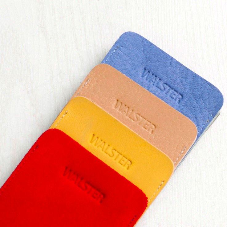 """Кожаный чехол для iPhone """"Walster"""" (Модификация: iPhone 4/4s, Цвет • Красный)"""