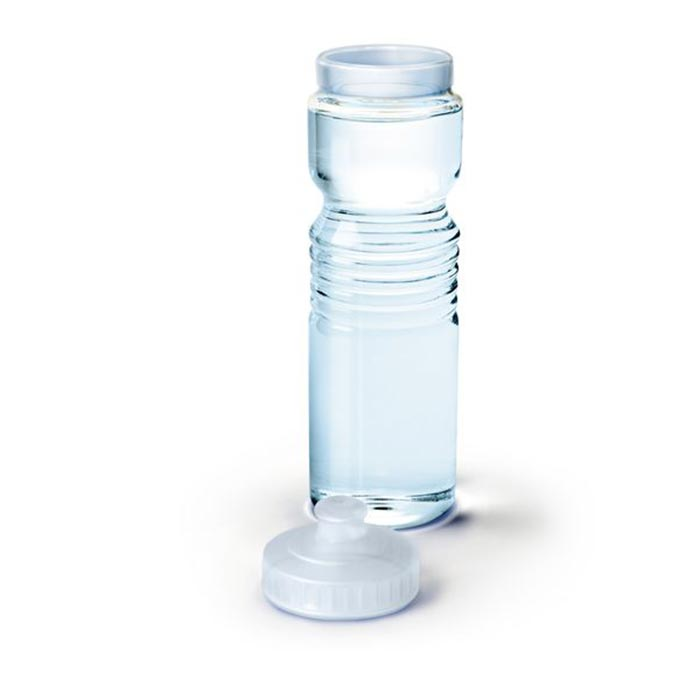 Графин для воды Gym GlassГрафины<br>Графин для воды Спорт (Gym Glass)<br>Размер: 9.4 х 9 х 29 см.; Объем: None; Материал: Стекло; Цвет: Прозрачный;