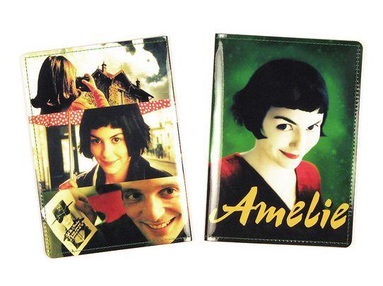 Обложка для паспорта АмелиПодарки<br>Амели на вашей обложке.<br>Размер: None; Объем: None; Материал: ПВХ; Цвет: Комбинированный;