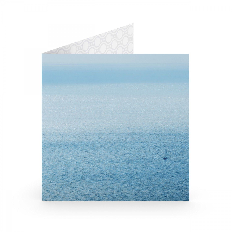 """Открытка """"Кораблик в океане"""""""