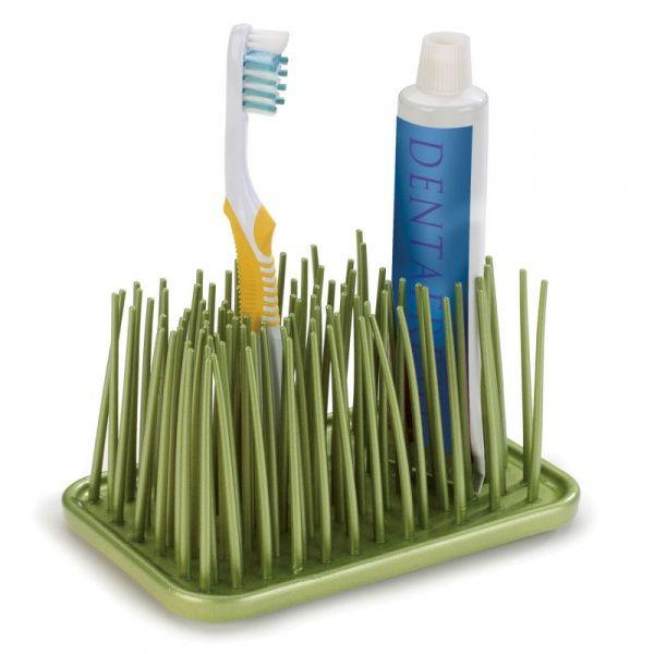 Органайзер Grassy зеленыйАксессуары для туалета<br>Органайзер Grassy (зеленый)<br>Размер: 15.2 х 10.2 х 10.2 см.; Объем: None; Материал: Полипропилен; Цвет: Зеленый;