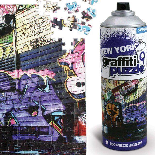 Пазл граффити Нью ЙоркТворчество<br>Пазл граффити - Нью Йорк<br>Размер: None; Объем: None; Материал: Картон; Цвет: None;