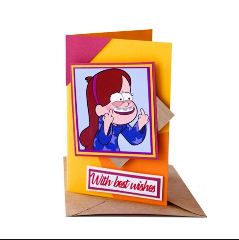 Открытка МейблПодарки<br>Оригинальная открытка для того, чтобы порадовать своих близких живущих в других городах, к такому необычному дополнению можно выбрать не менее оригинальный подарок.<br>Размер: 10 х 14,5 см; Объем: None; Материал: Бумага; Цвет: None;