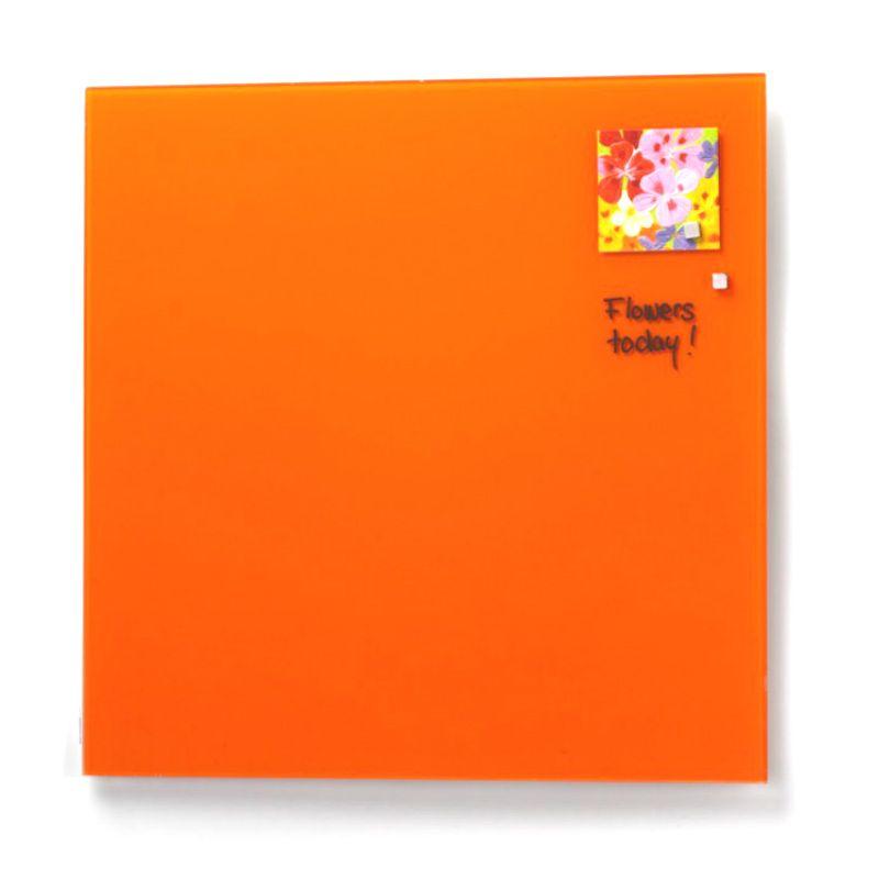 Стеклянная магнитно-маркерная доска Оранжевая Askell 45x45Магнитные доски<br>Стеклянная магнитно-маркерная доска Оранжевая Askell 45x45<br>Размер: 45 х 45 см.; Объем: None; Материал: Стекло; Цвет: Оранжевый;