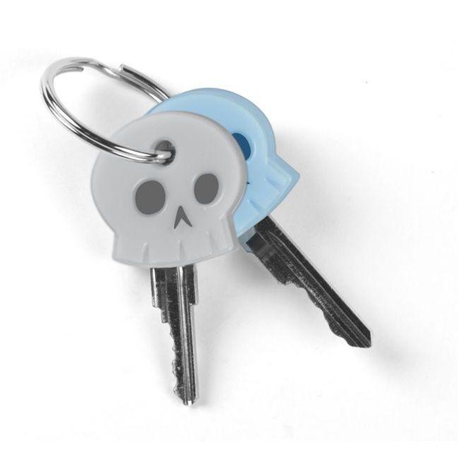Насадка на ключ Skeleton KeysПодарки<br>Насадка для ключей Череп<br>Размер: None; Объем: None; Материал: Силикон; Цвет: None;
