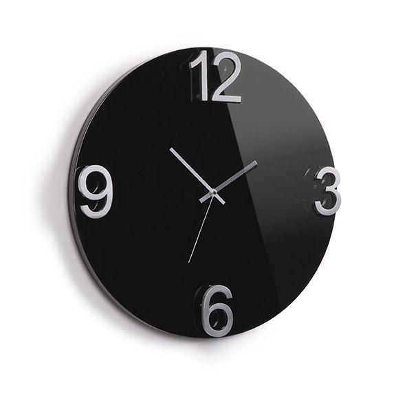 Часы настенные ElapseЧасы и будильники<br>Часы настенные - стильный подарок для любого интерьера.<br>Размер: None; Объем: None; Материал: Дерево, металл, пластик; Цвет: Черный;