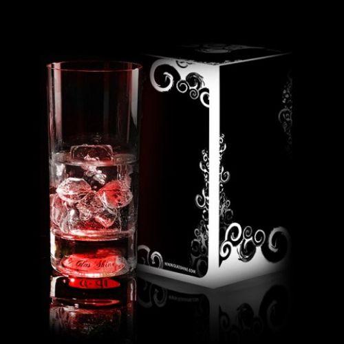 Светящийся бокал Longdrink (GlasShine) (Красный)