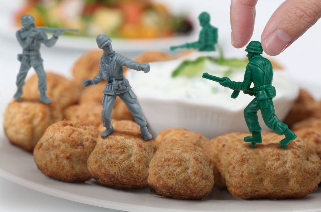 Шпажки для канапе Food FightersПодарки для гурманов<br>Набор для канапе Солдатики (Food Fighters)<br>Размер: None; Объем: None; Материал: Пластик; Цвет: None;