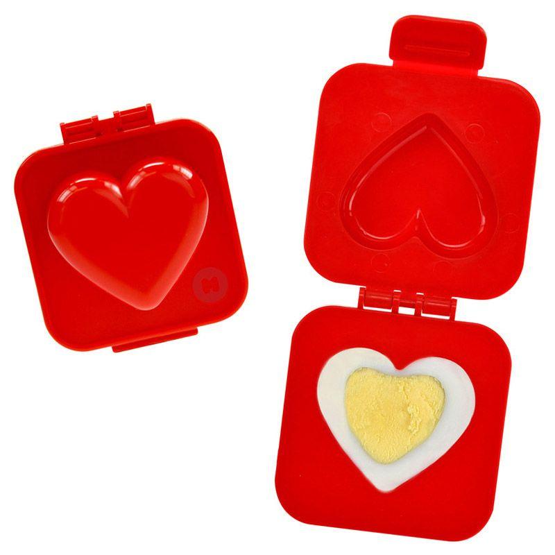 Пресс-форма для яйца HeartПодарки<br>Пресс - форма для яйца Heart<br>Размер: None; Объем: None; Материал: Пищевой пластик; Цвет: Красный;