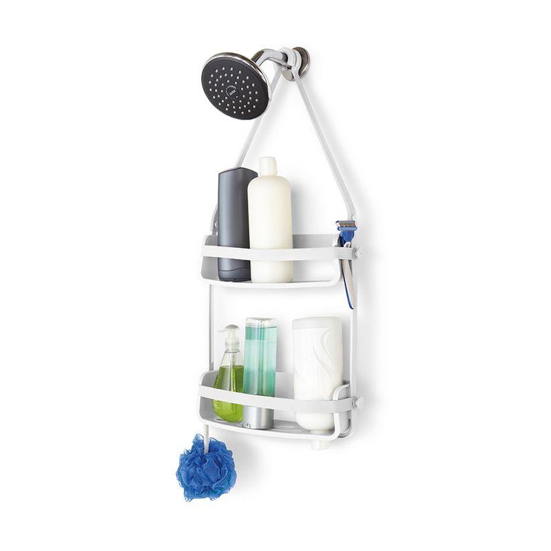 Органайзер для ванной FLEX белыйПодарки<br>Органайзер для ванной с вместительными секциями.<br>Размер: 10,2 х 40,9 х 35,1 см; Объем: None; Материал: Пластик ABS; Цвет: Белый;