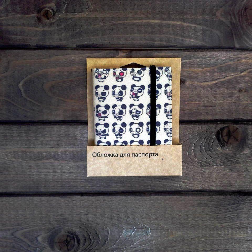 Обложка для паспорта Be PandaПодарки<br>Обложка для паспорта Be Panda<br>Размер: None; Объем: None; Материал: Текстиль; Цвет: None;