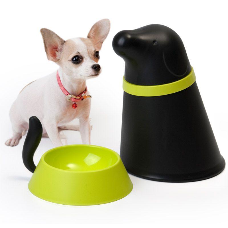 Контейнер + миска для собаки Pupp чернаяДля собак<br>Контейнер + миска для собаки Pupp<br>Размер: 28 х 25 х 21 см.; Объем: None; Материал: Силикон, пластик; Цвет: Черный / Зеленый;