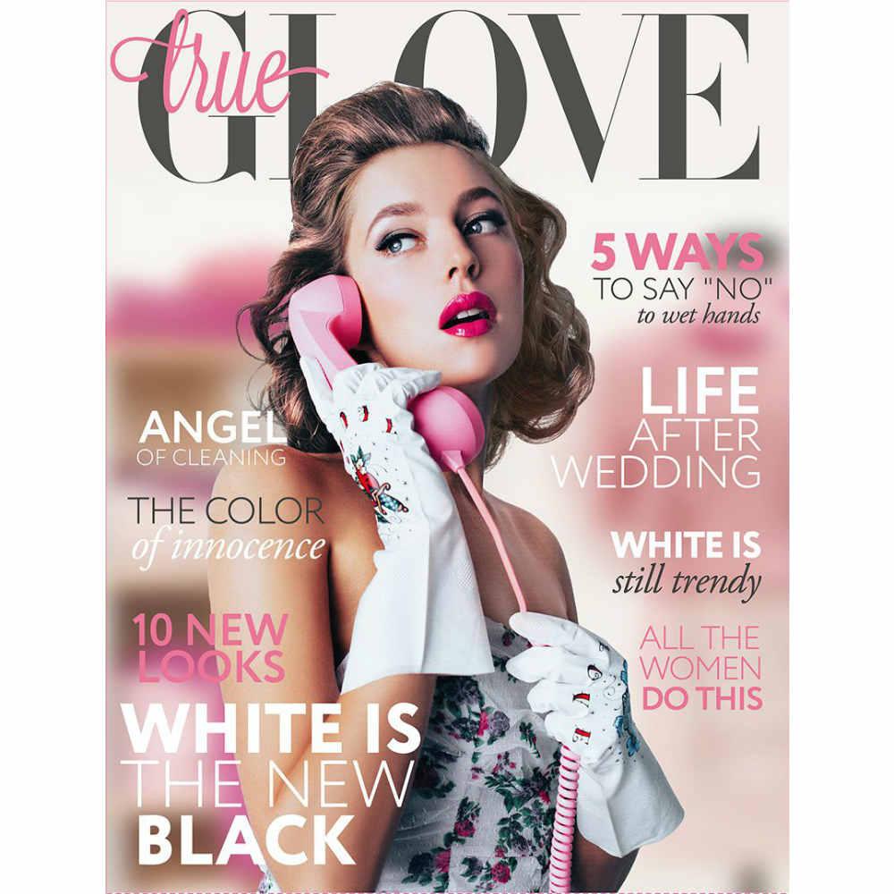 Перчатки с татуировками True Glove белые SЛюбимой<br>Татуированные перчатки TrueGlove (белые) S<br>Размер: S; Объем: None; Материал: Латекс; Цвет: Белый;