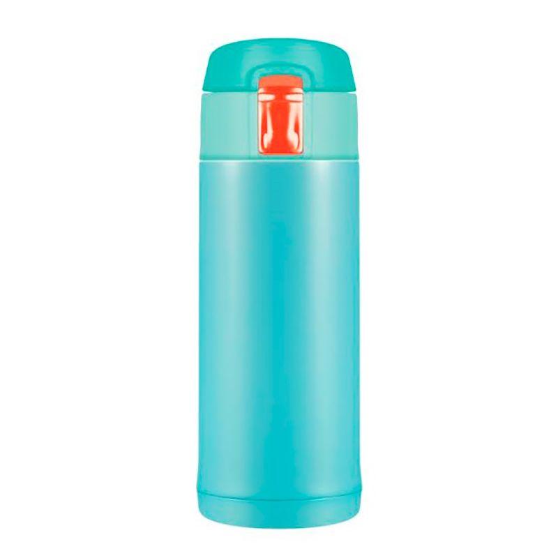 Термостакан Quick Open 2.0, мятный глянец, 350 млПодарки<br><br>Размер: 18,9 х 8,5 см; Объем: None; Материал: Нержавеющая сталь, пластик; Цвет: Мятный;