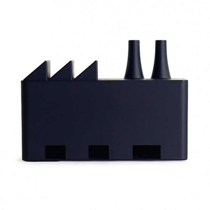 Органайзер для проводов Cable factory черныйПодарки<br>Органайзер для проводов Cable factory черный<br>Размер: 24 x 17 x 10 см.; Объем: None; Материал: Пластик; Цвет: Черный;