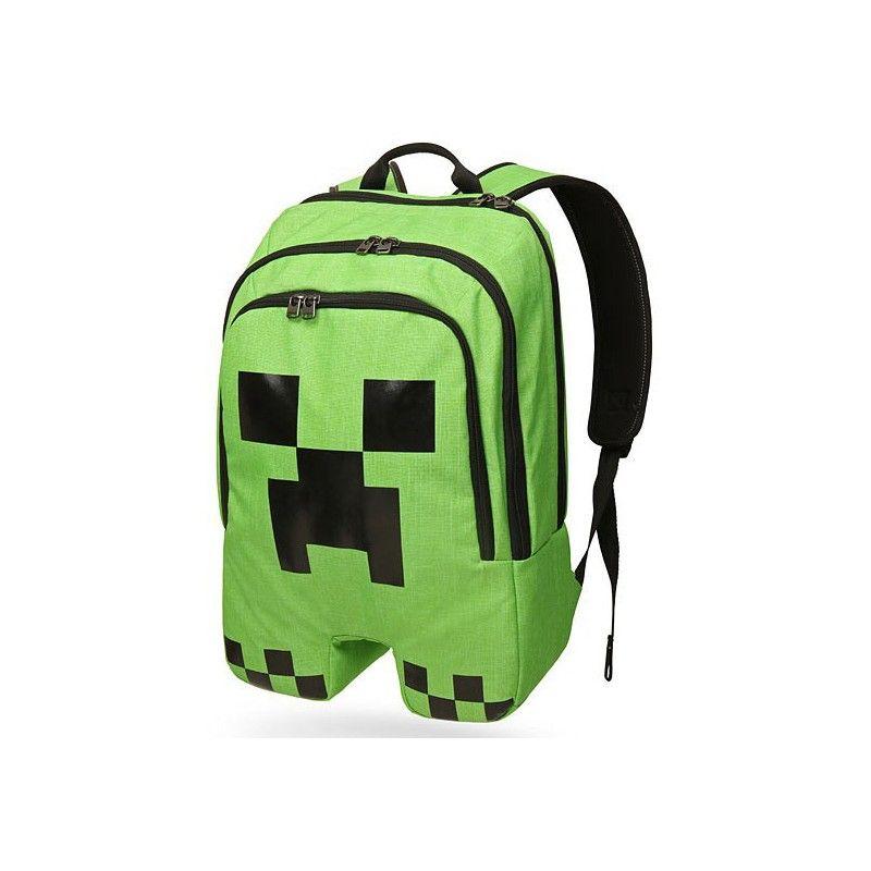 Рюкзак Minecraft CreeperПодарки<br>Рюкзак Minecraft Creeper весь учебный год своим видом будет радовать поклонника знаменитой видеоигры.<br>Размер: 45 х 18 х 32 см; Объем: None; Материал: Полиэстер; Цвет: Зеленый;