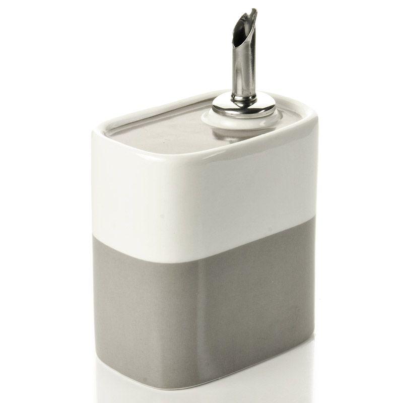 Емкость для масла Soft colorПодарки<br>Емкость для масла от известного дизайнера.<br>Размер: None; Объем: 250 мл; Материал: Фарфор, металл, пластик.; Цвет: None;