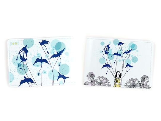 Обложка для студенческого Девочка с птицамиОбложки для документов<br>Обложка для студенческого Девочка с птицами<br>Размер: None; Объем: None; Материал: ПВХ; Цвет: Комбинированный;