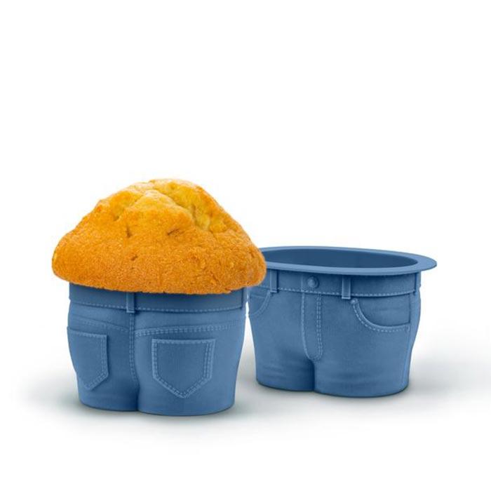 Набор форм для выпечки Muffin TopsВыпечка<br>Набор форм для выпечки Muffin Tops<br>Размер: None; Объем: None; Материал: Силикон; Цвет: Синий;