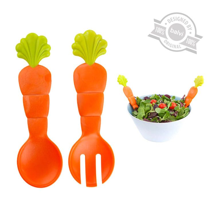 Набор для салата Fresh CarrotsКухня<br>Набор для салата Fresh Carrots<br>Размер: 25 x 8 x 2 см.; Объем: None; Материал: Пищевой пластик; Цвет: None;