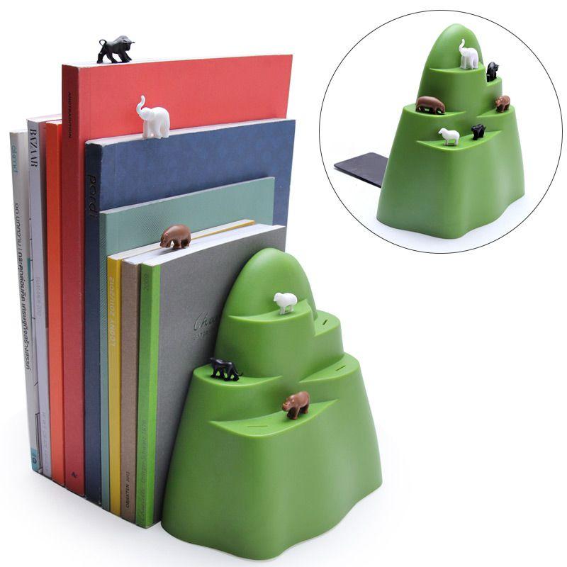 Держатель + закладки для книг MountainПодарки для дома<br>Держатель+закладки для книг Mountain<br>Размер: 14 х 14 х 7 см.; Объем: None; Материал: Пластик ABS; Цвет: Зеленый;
