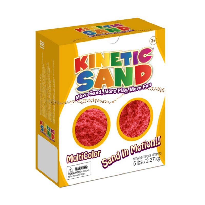 Купить со скидкой Кинетический песок Kinetic Sand 2,27 кг. красный