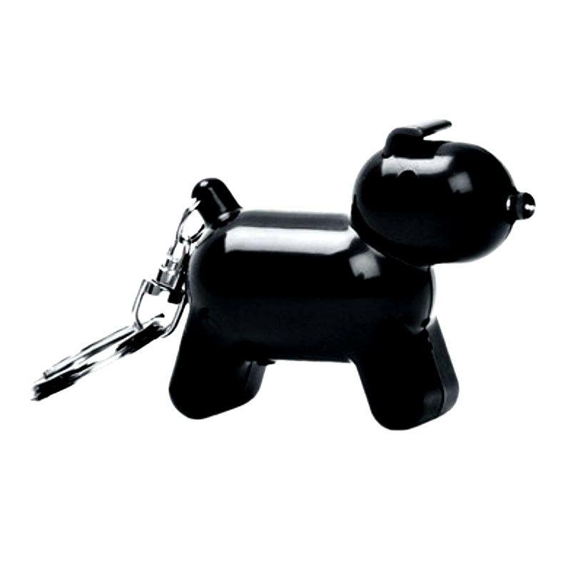 Брелок - искатель звуковой Doggy ЧерныйДержатели для ключей<br>Брелок поможет найти любую мелочь.<br>Размер: 5 х 6 х 2.5 см; Объем: None; Материал: Пластик; Цвет: Черный;