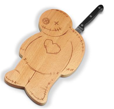 Набор доска и нож OUCH!Доски для разделывания<br>Набор Доска и нож Страшила (OUCH!)<br>Размер: None; Объем: None; Материал: Дерево, металл, пластик; Цвет: None;