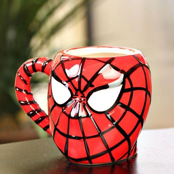 Кружка Spider Man Человек ПаукПодарки<br>Кружка Spider Man<br>Размер: 12.6 х 10.6 х 10.3 см.; Объем: None; Материал: Керамика; Цвет: None;