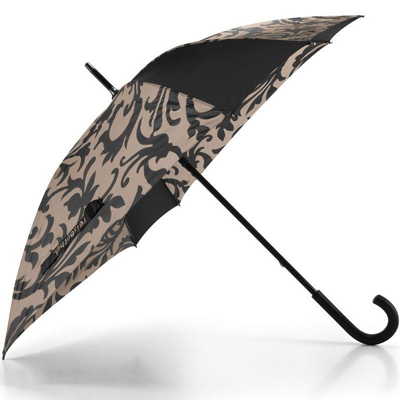 Зонт трость Umbrella baroque taupeПодарки<br>Umbrella baroque taupe - зонт со стержнем.<br>Размер: 85 х 90 х 85 см; Объем: None; Материал: Полиамид; Цвет: None;